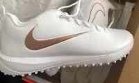 Nike Vapor Varsity Low Turf LAX Cleats Lacrosse Shoes 923492-101 Men's 8 NEW