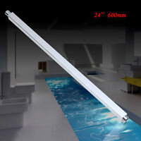 """600mm 24"""" Brass Shower Arm Shower Head Extension Pipe Wall Mounted Chrome"""