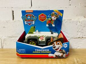 Tracker & Jungle Cruiser Car PAW Patrol Action Figure Vehicle Mighty Pups