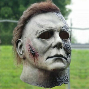 Halloween Michael Myers Adult Latex Full Head Mask 1978 Trick Or Treat Best Gift