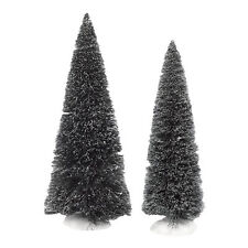 Department 56 Jumbo Frosted Sisal Trees 4038839 2014 Village Accessory NEW D56