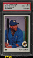 1989 Upper Deck Gary Sheffield ROOKIE RC #13 PSA 10 GEM MINT