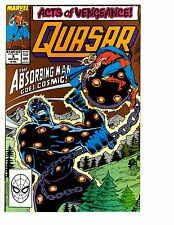 3 Quasar Marvel Comic Books # 1 5 7 Cosmic Avengers Mark Gruenwald Ryan CB8