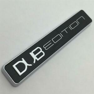 CHROME DUB EDITION Car Badge Aftermarket NEW GTI T4 T5 GT Turbo