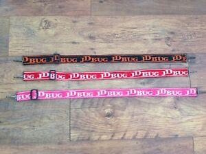 Genuine JD Bug Shoulder Carry Straps Orange Red or Pink