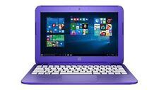 "HP 11-r015wm Stream 11"" N3050 1.6GHz, 32GB eMMC, 2GB Win 10 Purple Laptop"