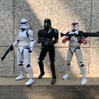 """6"""" Black Series Star Wars Action Figure Darth Vader Boba Fett Stormtrooper Toys"""