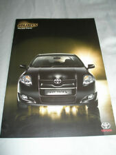 Toyota Auris introduction brochure Dec 2006