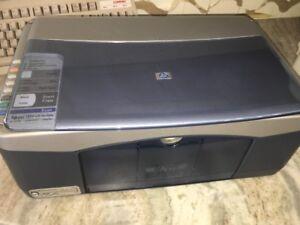 HP PSC1350 Tout-en-Un Jet D'Encre Printer-Rare Vintage-Ships N 24 Heures