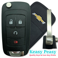 100/% OEM 13-20 GM CHEVY SONIC FLIP KEY KEYLESS REMOTE FOB 13575177 KR55WK50073