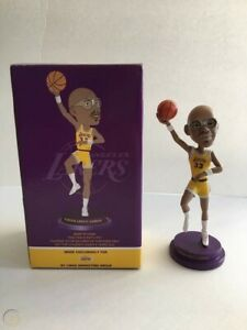 Los Angeles Lakers 2012 Kareem Abdul Jabbar SGA bobblehead  NIB 11/16/12 TICKET