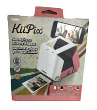 KiiPix Portable Photo Printer, Pink Base Cherry Blossom Pink