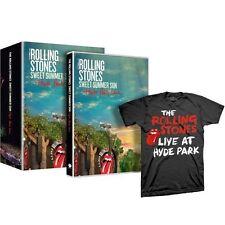 Rolling Stones : Sweet Summer Sun - Hyde Park Live ltd. edition (DVD+T-shirt)