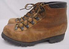 Vintage Dexter Men's Size 8.5 Hiking Mountaineering Leather Boots Vibram Soles