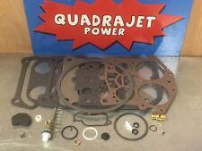 Quadrajet Premium Rebuild Kit. Buick 67-70, Chevrolet 67-68, Pontiac 66-74