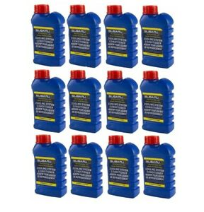 12 Bottles of OE Supplier for Saab Subaru Cooling System Conditioner SOA635071