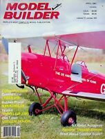 Model Builder Magazine April 1987 Laser 200 Nakajima 50 Autogiros m996