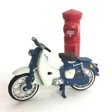 Time Slip Glico Miniature Motorcycle Honda Super Cub C100 Kaiyodo Japan