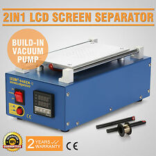 2 IN 1 VACUUM LCD Bildschirm Reparatur iPhone Screen Repair Screen Separator