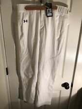 $70 msrp Under Armour NWT Mens Size XL Heat Gear White Baseball Pants