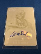 2016 Topps Star Wars Evolution Yellow Press Plate Autograph 1 Of 1 Matthew Wood