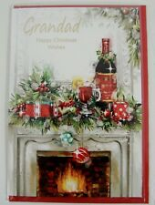 Grandad Christmas Card ~ Happy Christmas Wishes ~ Lovely Verse ~ NEW (CH44)