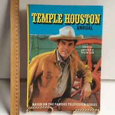 Temple Houston Annual Starring Jeffrey Hunter TV Series HC/VGC 1965/66