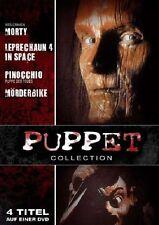 Puppet Collection 4 Horror Filme DVD NEU Morty Leprechaun 4 Pinocchio Mörderbike