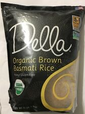 Della Organic Brown Basmati Rice Gluten-Free 10 Lbs ( FREE EXPEDITED SHIPPING)