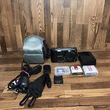 SONY CYBER-SHOT DSC-HX5V 10.2MP Digital Camera-Black with Accessories