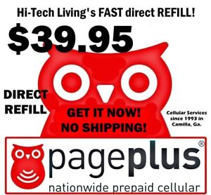Page Plus $39.95 Refill DIRECT ELECTRONIC REFILL 🔥 GET IT TODAY 🔥 USA DEALER
