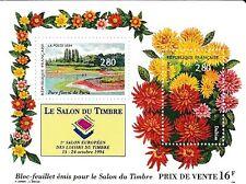 Bloc Timbres FRANCE NEUF 1994 N° 2909 à 2910 Salon du timbre 1994