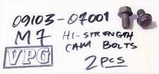 2 EACH Suzuki 09103-07001 CAMSHAFT sprocket BOLT M7 GS 550/750/850 GSF GSXR RF