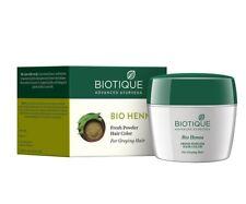 Biotique Ayurveda Bio Henna Fresh Powder Hair Color For Greying Hair 90gm
