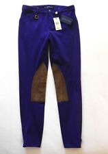 Ralph Lauren Palermo Hudson Jodhpur Trousers Purple 4 / UK 8 NEW RRP £265