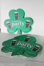 11 SOTTOBICCHIERI ST. PATRICK'S PARTY ANNO 2006 / VINTAGE GUINNESS BEER MATS