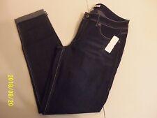 Bongo Ankle Biter Skinny Jeans Womens Juniors Dark Wash Denim Size 11 NWT