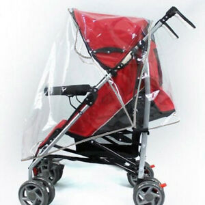 Baby Transparent Stroller Weather Shields Rain Cover Pushchairs Accessories