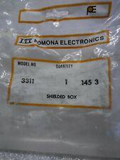 ITT Pomona Electronics 3311 1 Piece - Shielded Box Accessories NOS New Old Stock