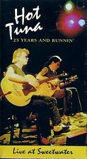 HOT TUNA 25 Years And Runnin Live at Sweetwater VHS Video Neu OVP