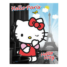 Poster De Pared Estampado Hogar Decoración Vintage Hello Kitty Maxi Paris 61cm X 91,5 Cm (377)