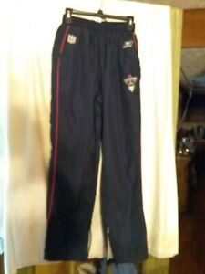 Reebok NFL Lined Warm-up/Sweat Pants Navy Blue S/CH/P