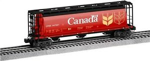 2010 LIONEL 6-27454 Government of Canada 3-Bay Cylindrical Hopper #507001