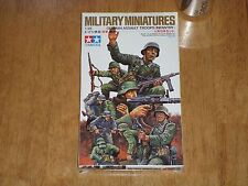 Ww2, German Infantry Assault Troops, Tamiya Military Miniatures Kit, Scale 1/35