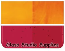 Bullseye Garnet Red Kiln Fusing Glass 90coe 1322-30