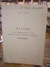 (RELIGIONE)MAZZONI:DIARIO DEL MIO PELLEGRINAGGIO A ROMA