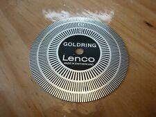 GOLDRING LENCO STROBE DISC EXCELLENT CONDITION