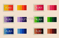 Hot sale Craft Multi Colors Ink Pad Oil For Rubber Stamp Paper Wood Fabric UK EW