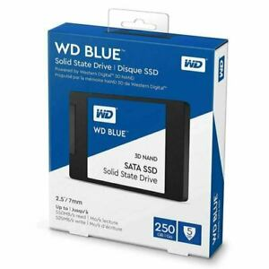 WD BLUE 250GB 2.5Inch Solid State Drive 550MB/s