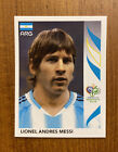 Panini 2006 GERMANY World Cup Argentina Rookie Lionel Messi #185 Card Sticker. rookie card picture